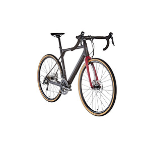 GT Bicycles Grade Carbon Elite satin black/wine red/wine red/grey